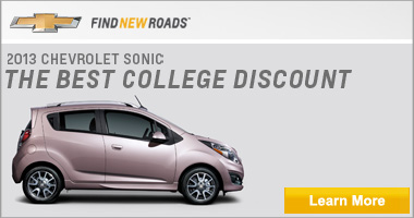 The 2013 Chevrolet Sonic. The best college discount. Chevy- Find new roads. Click to learn more.
