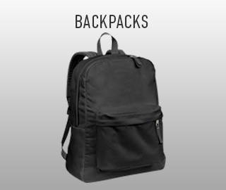 Picture of backpack. Click to shop backpacks.