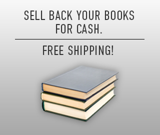 Picture of stacked textbooks. Free shipping. Click to sell back your books for cash.